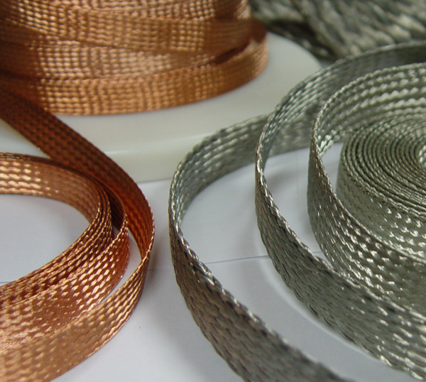 Braided Copper Wire : Braided wire bus bar ground deleo cable